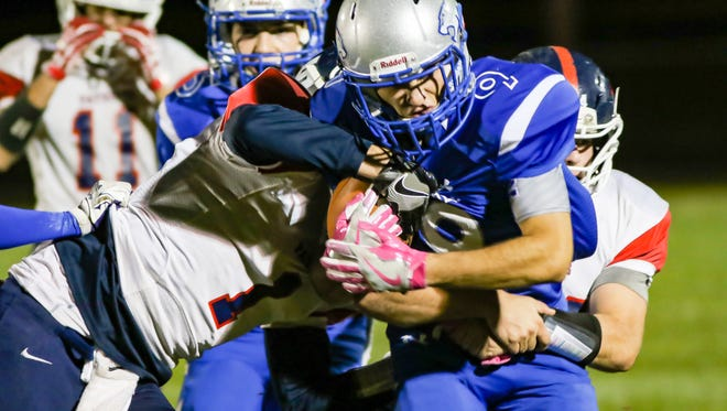 Carroll's Quinton Veach was voted Week 1 winner of the Journal & Courier Player of the Week honor.