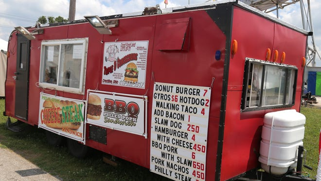 Triple D Concessions is one of the food vendors at the Crawford County Fair.