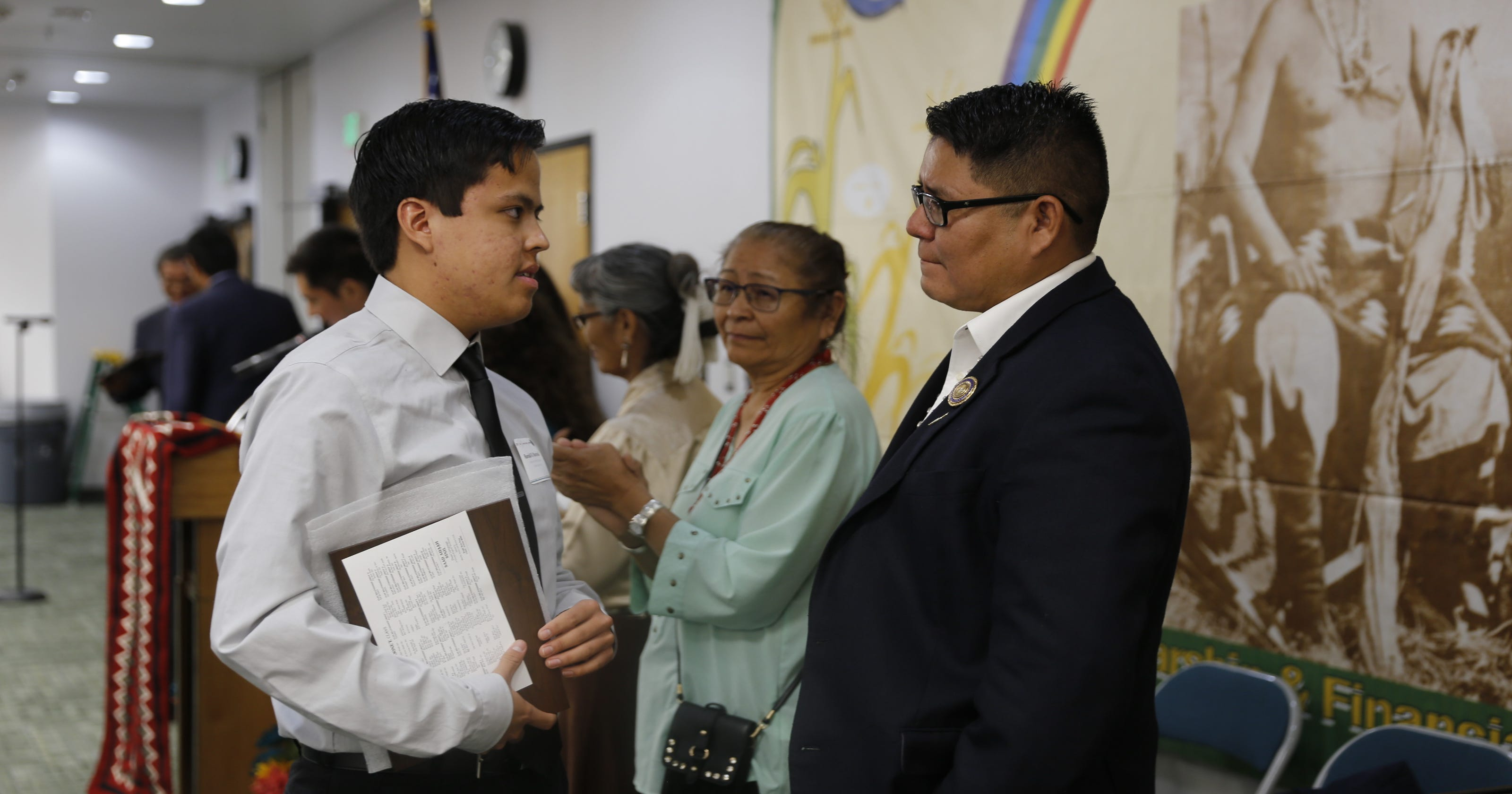 Chief Manuelito scholars honored in awards ceremony