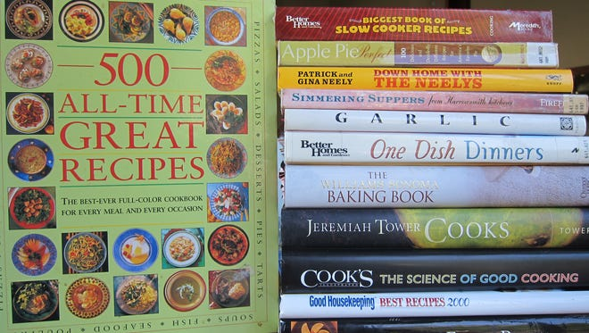 The St. Cloud Friends of the Library is having a cookbook sale during August.