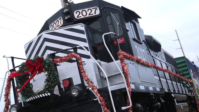 The annual Polar Xpress parade and holiday event took place in downtown Shelby on Sunday. The event was sponsored by the Shelby Area Business Group.