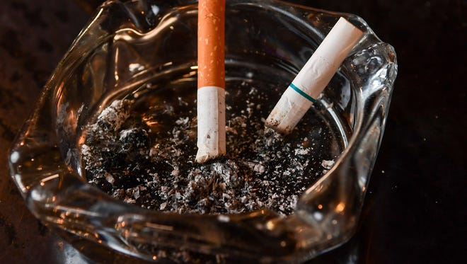 Smoking rates hit a record low in New York in 2016.