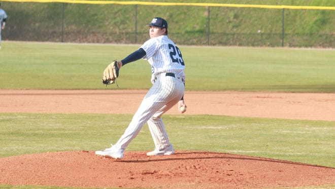 Wallace State Community College pitcher Blake Rivera, who is a Auburn signee, was drafted in the fourth round by the San Francisco Giants Wednesday in the 2018 MLB draft.
