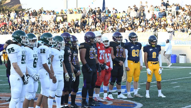 The four public schools in Salinas — Alisal, Salinas, North Salinas and Everett Alvarez — will take to the field Friday for the Salinas City Jamboree.