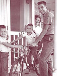 Ike and Pat Buchanan with their two sons.