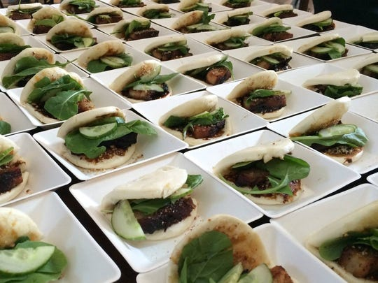 Pineywoods Supper Club's first event is April 23. An item they'll prepare is Pork Belly Steamed Buns.