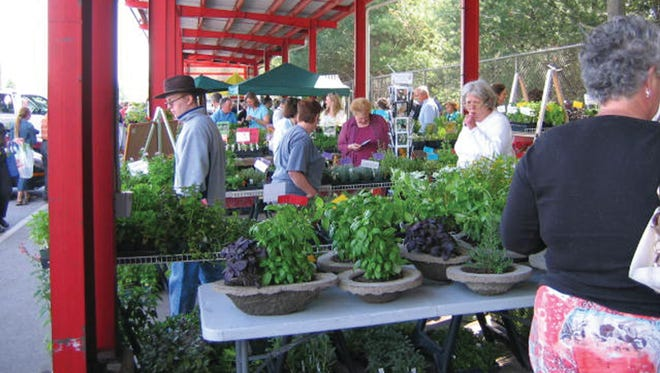 The 2019 Spring Herb Festival is May 3-5 at WNC Farmers Market.