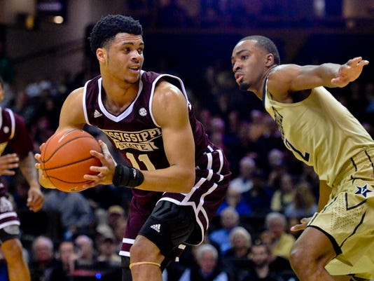 NCAA Basketball: Mississippi State at Vanderbilt