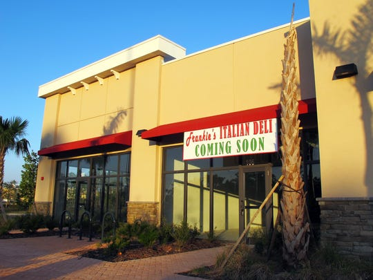 Frankie's Italian Deli is one of the businesses targeted to open soon in the new Commons on Collier retail center on Collier Boulevard.