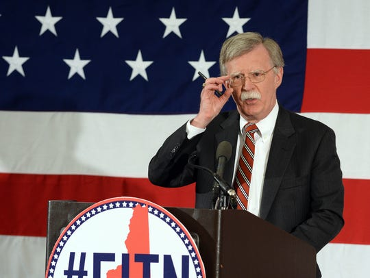 John Bolton, former U.S. ambassador to the United Nations