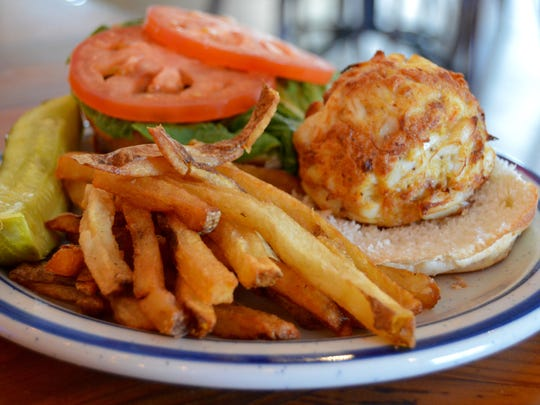 The Ocean City Fish Company's famed crab cake is featured on the USA Today 10Best Reader's Choice contest for Best Crab Cakes in Maryland.
