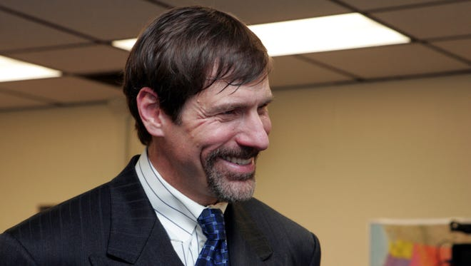 Henry Nicholas at the 2009 opening of Nicholas Academic Center II