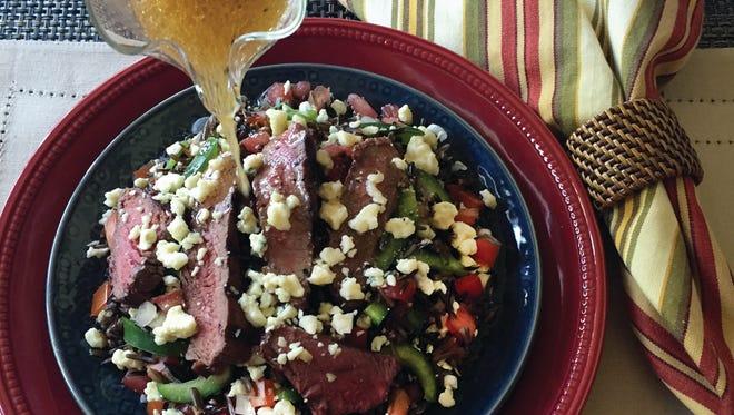 Gilda Lester of Millsboro created an award-winning wild rice dish called Tuscan Beefeater's Wild Rice Salad.