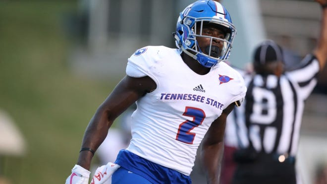 Tennessee State receiver Patrick Smith has helped the Tigers' passing game take off.