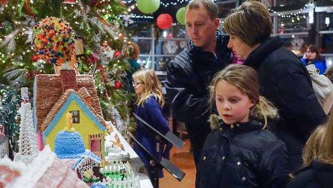 Viewing the MATC pastry students' gingerbread houses at Milwaukee Public Market is an annual tradition.