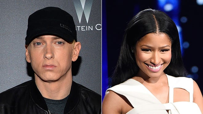 Are Nicki Minaj and Eminem dating? She's setting the record straight with a comment on Instagram.
