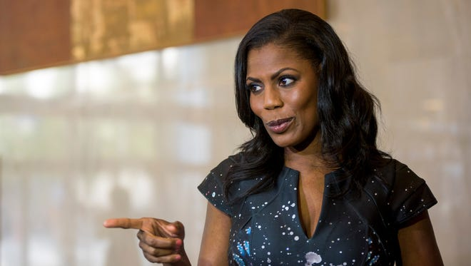 Omarosa Manigault on July 19, 2016 in Cleveland.