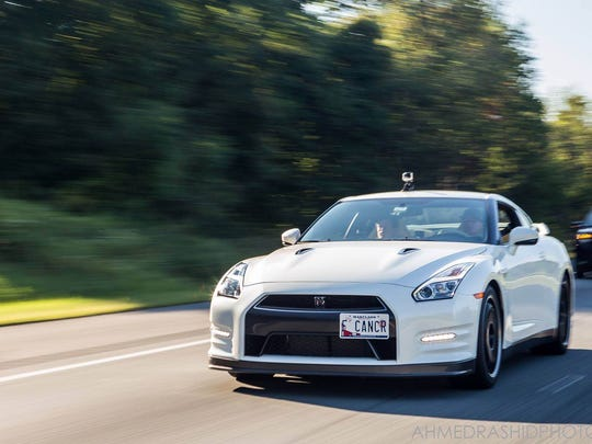 The special Driven to Cure Nissan GT-R (before it was