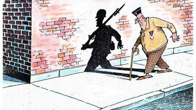 Granlund Memorial Day cartoon.