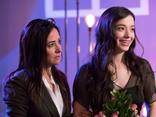Sam (Pamela Adlon), left, tries to figure out how to