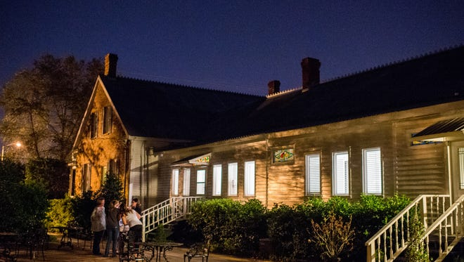 The bed and breakfast T'Frere's House is pictured  in Lafayette, La., Tuesday, Sept. 22, 2015. The property is haunted according to local urban legends.