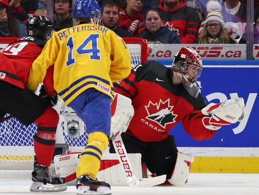 Canada v Sweden: Gold Medal Game - 2018 IIHF World Junior Championship
