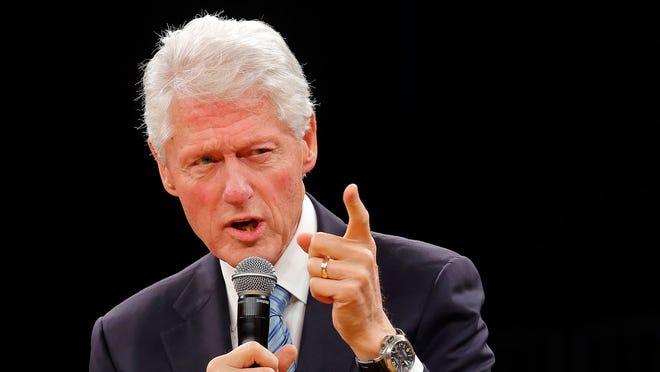 Former U.S. President Bill Clinton.