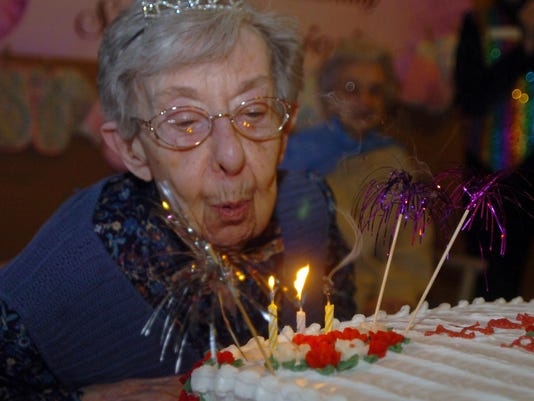 3 frm Nuns 100th birthday