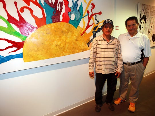 Jesus Ornelas, left, and Ernesto Oliveros