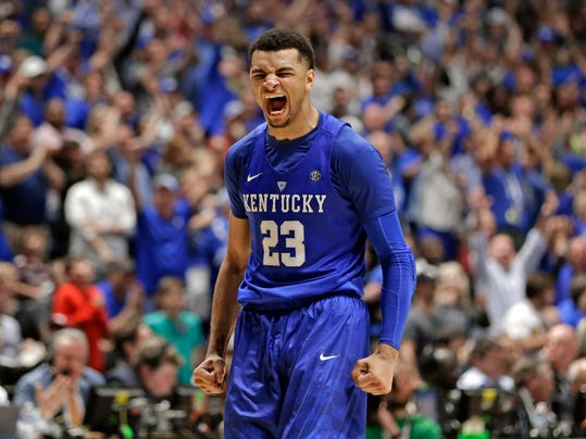 Nuggets select Jamal Murray with No. 7 pick in NBA draft