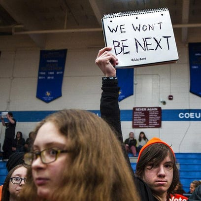 School-walkout unity also lays bare student division