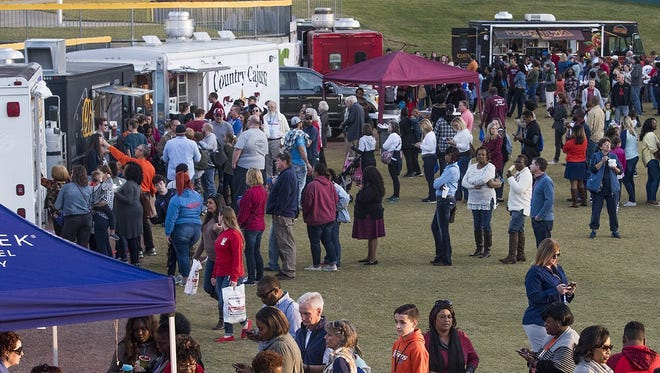 The Food Truck Mash-Up returns to Riverwalk Stadium in downtown Montgomery on Oct. 20.