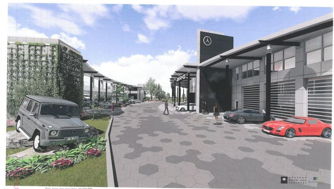 The owner of Tafel Motors has detailed plans for moving the Louisville area's primary Mercedes-Benz dealership from its long-time St. Matthews headquarters to far eastern Jefferson County.