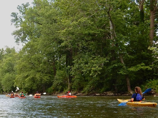 The Cuyahoga River winds through Cuyahoga Valley National Park, where the once famously polluted body of water provides loads of opportunities for canoeing and kayaking.