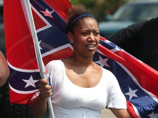 Confederate Flag Rall_rile