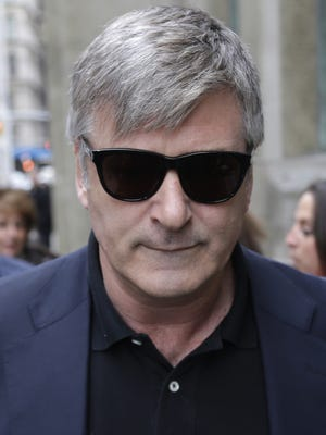 Alec Baldwin on Nov. 12, 2013, when his woes involved only a stalker.