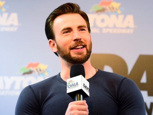 2-23-2014 chris evans daytona 500