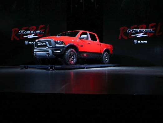 The 2015 Dodge Ram 1500 Rebel is introduced to the