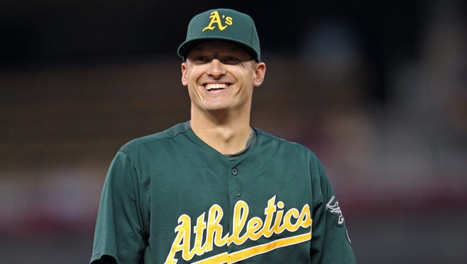 Josh Donaldson, after a rough adolescence, has found widespread respect among his Oakland Athletics teammates.