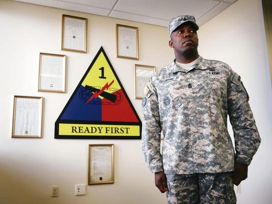 Command Sgt. Maj. Martin Celestine Jr. is the 1st Brigade Combat Team's new senior enlisted leader.