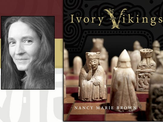 "Renowned Norse scholar Nancy Marie Brown will discuss here new book ""Ivory Vikings: The Mystery of the Most Famous Chessmen in the World and the Woman Who Made Them,"" at 4:30 p.m. Thursday in Cornell University's Kroch Library."