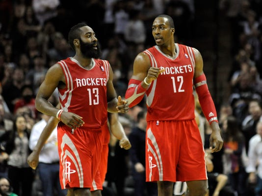 d5f6696b3ea James Harden Dwight Howard. Houston Rockets ...