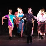 """The Leading Player and the dance troupe tell the story of Pippin. """"Pippin"""" is currently playing at Tibbits Opera House."""