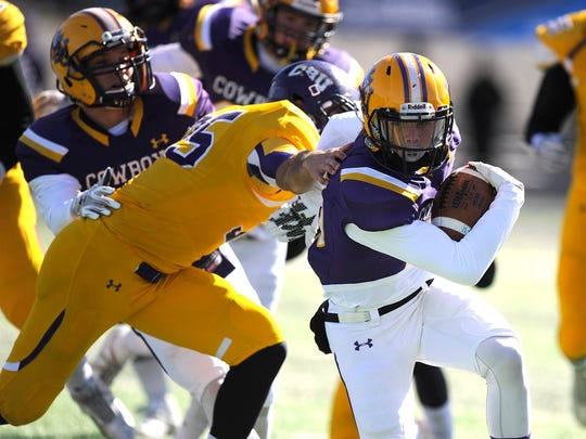 Hardin-Simmons receiver Reese Childress is one of five team captains this season. The Cowboys open fall camp on Thursday.