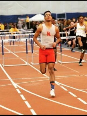 Perth Amboy hurdler Juan Alejandro hopes to have a strong senior outdoor season.
