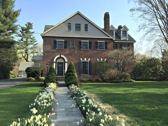 This Colonial Revival home in Plainfield was built in 1913.