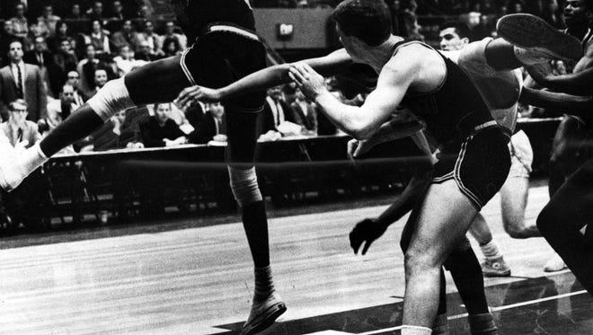 Bearcats vs. Xavier in the 1968 Crosstown Shootout.