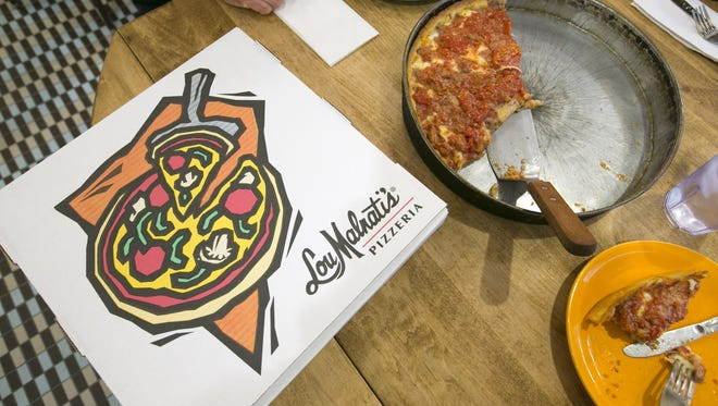 Arizona's first Lou Malnati's Pizzeria will open to general public Monday, May 16, 2016, at Uptown Plaza in central Phoenix.