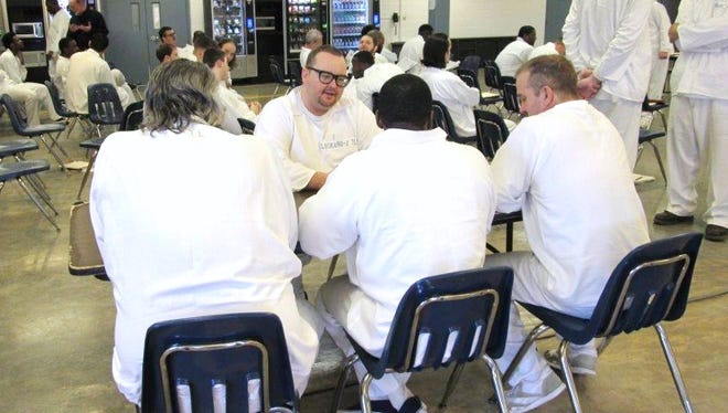 Inmates at the North Central Unit of the Arkansas Department of Correction in Calico Rock recently took part in mock job interviews as part of the 13-week Job Search Skills Training program.
