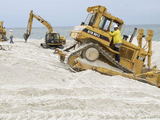 Beach renourishment 3